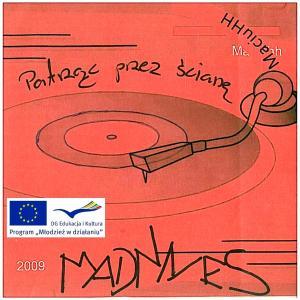 załącznik 17 - wstępny projekt okładki MADNESS CD